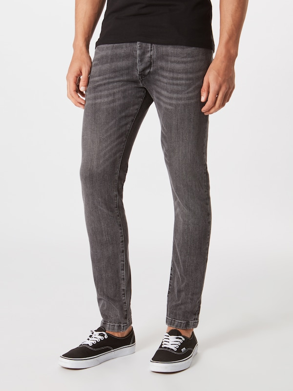 DRYKORN Jeans 'Jaz' in grey denim, Modelansicht
