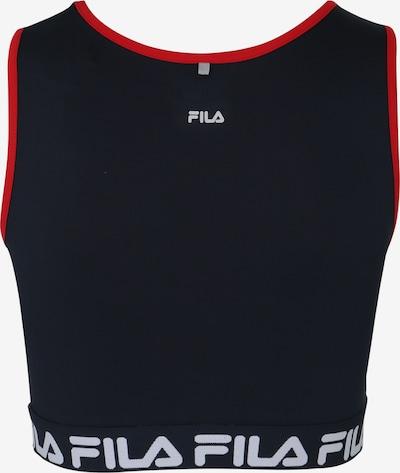 Sportiniai marškinėliai be rankovių iš FILA , spalva - tamsiai mėlyna / pilka: Vaizdas iš galinės pusės