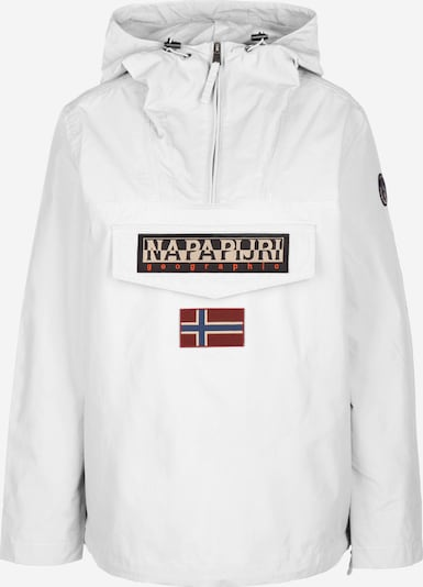 NAPAPIJRI Windbreaker 'RAINFOREST SUM 2' in weiß, Produktansicht