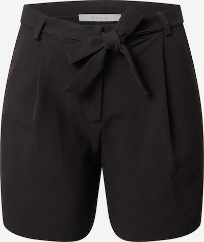 Pantaloni cutați 'ESLIE' VILA pe negru, Vizualizare produs