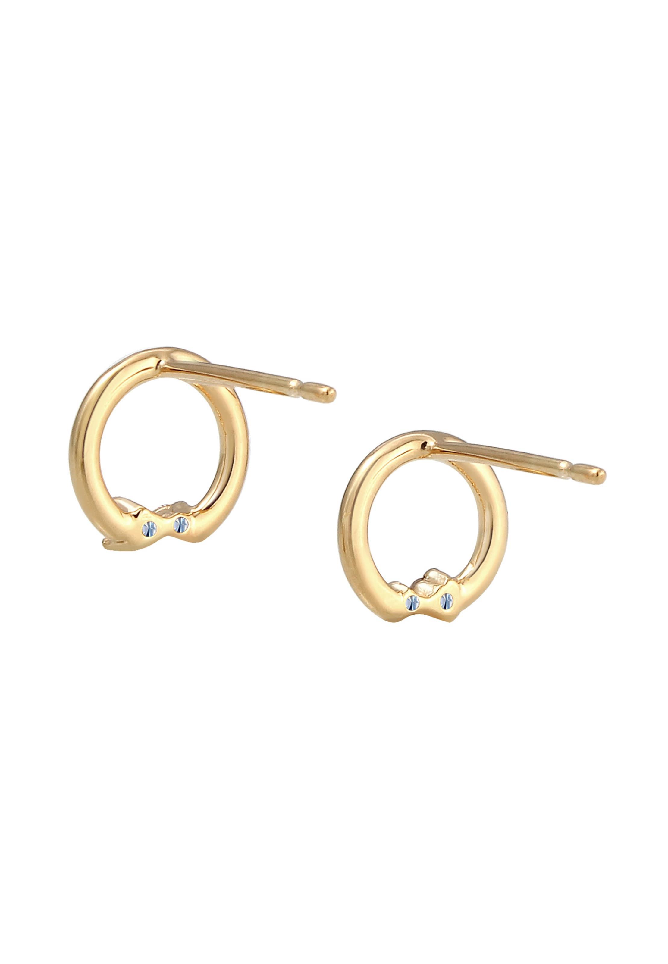 Ohrringe In 'kreis' Ohrringe 'kreis' Diamore Ohrringe In Gold Diamore Diamore 'kreis' In Gold S3qc4j5ALR