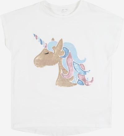 NAME IT Koszulka w kolorze białym, Podgląd produktu
