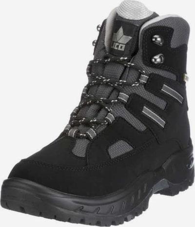 LICO Boots 'BRÜTTING ' in de kleur Grijs / Zwart, Productweergave