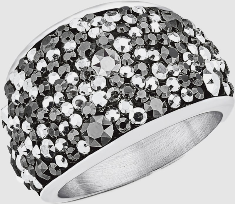s.Oliver RED LABEL Ring mit Swarovski® Kristallen
