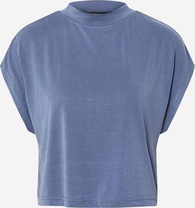 Tricou Urban Classics pe albastru fumuriu, Vizualizare produs