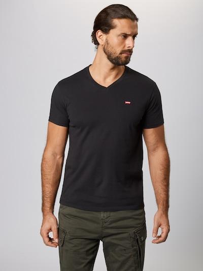 LEVI'S T-Shirt 'ORIGHM' en noir: Vue de face