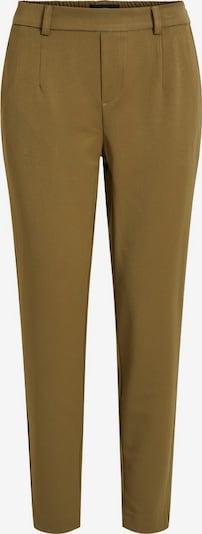 OBJECT Kalhoty se sklady v pase - olivová, Produkt