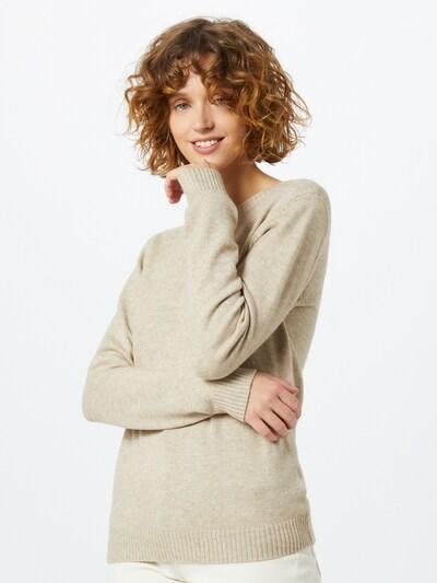 VILA Sweter 'Ril' w kolorze beżowym, Podgląd na modelu(-ce)
