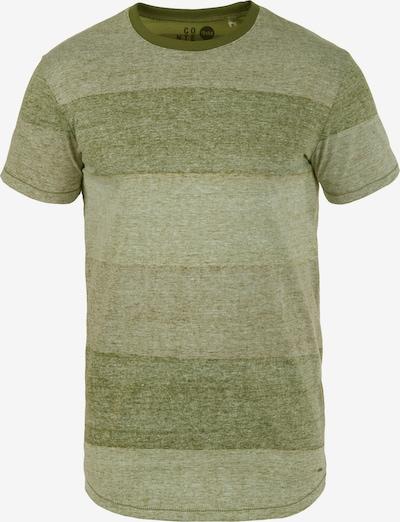 !Solid Rundhalsshirt 'Teine' in grün: Frontalansicht