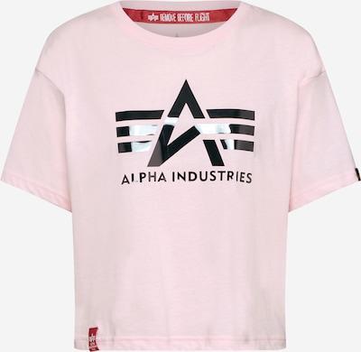 rózsaszín ALPHA INDUSTRIES Póló 'Big A T Wmn', Termék nézet