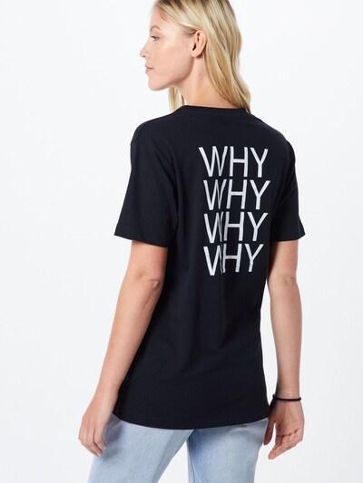 Merchcode T-shirt 'Why' en mélange de couleurs / noir: Vue de dos