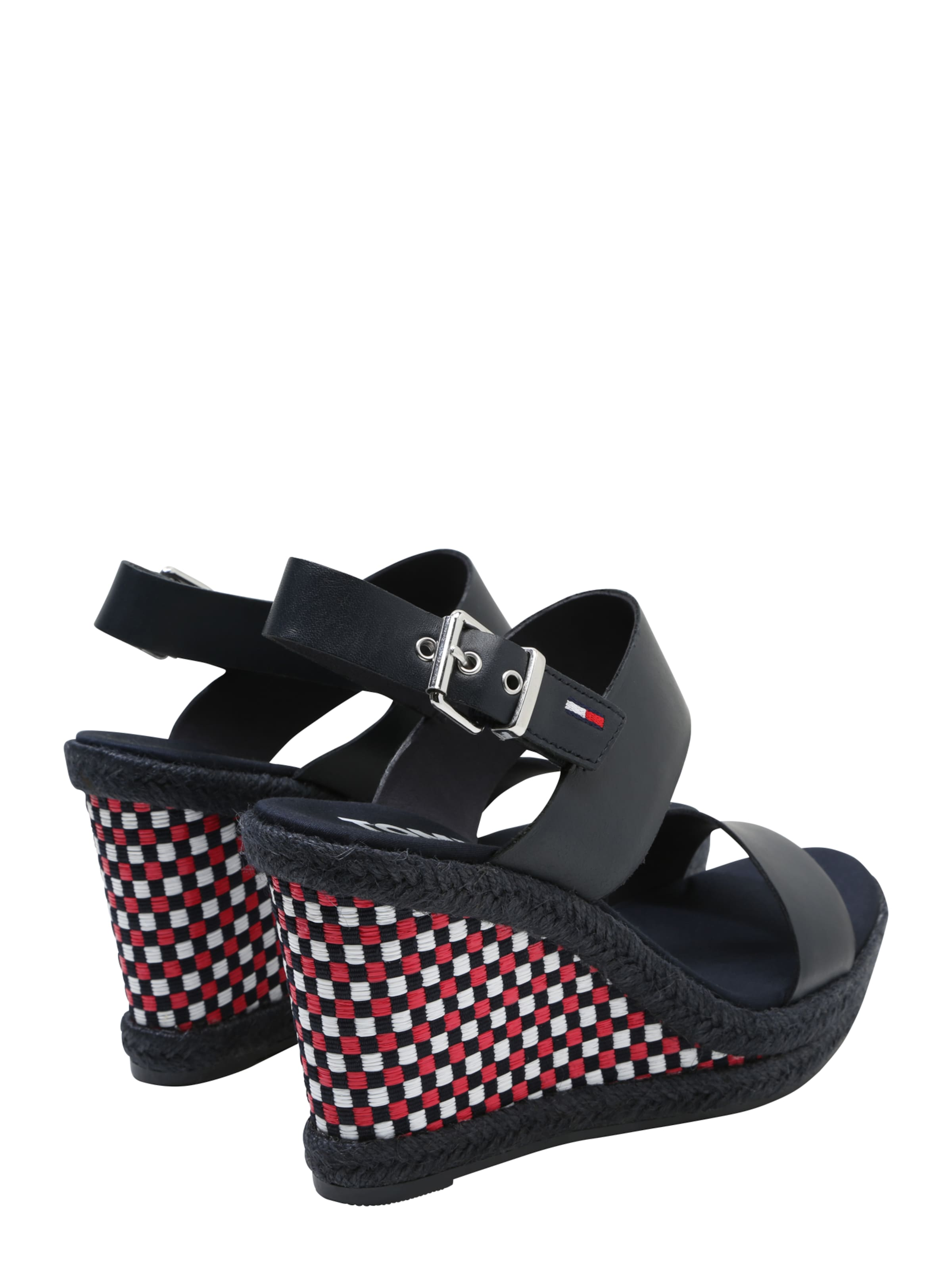 Tommy Jeans Keilsandale 'GINGHAM PATTERN' Beste Angebote iBh6PtYb