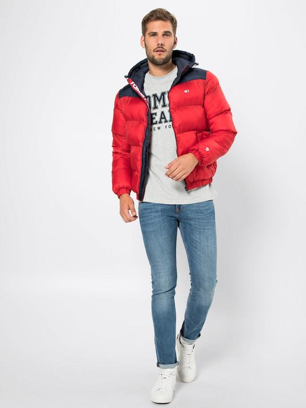 Tommy En Classics Puffa Jeans MarineRouge D'hiver 'tjm Bleu Veste Jacket' FT1uKJcl3