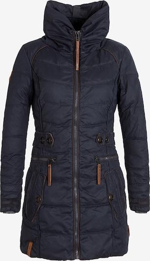 naketano Manteau d'hiver 'Knastrologin' en bleu foncé / bronze, Vue avec produit