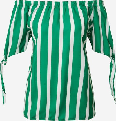 Bluză 'Vanessa' Hailys pe verde / alb, Vizualizare produs
