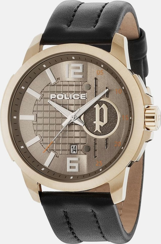 POLICE Quarzuhr 'SQUAD, PL15238JSG.11'