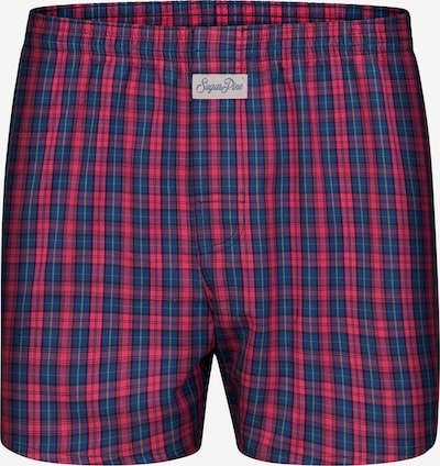 Sugar Pine Boxershorts 'Classic Check' in de kleur Pink, Productweergave
