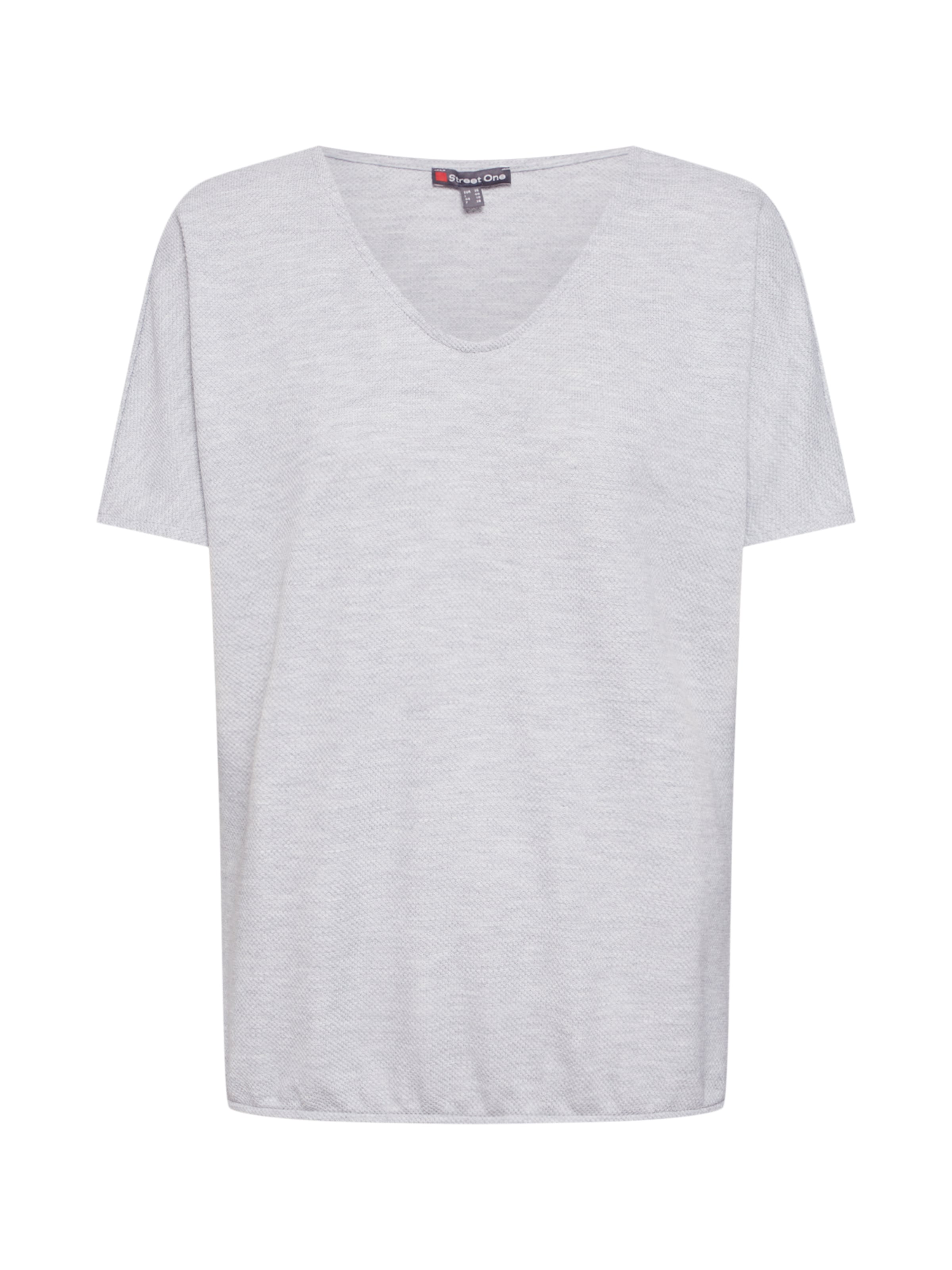 Gris Chiné 'qr En T shirt One Street Insine' 80mNnw
