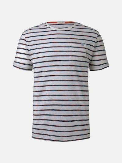 TOM TAILOR T-Shirt in blau / rot / weiß, Produktansicht