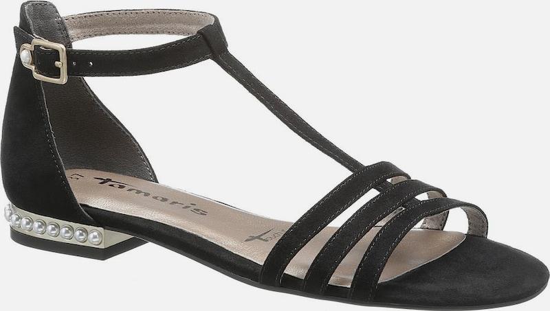 TAMARIS Sandale 'Ayn' in schwarz | ABOUT YOU