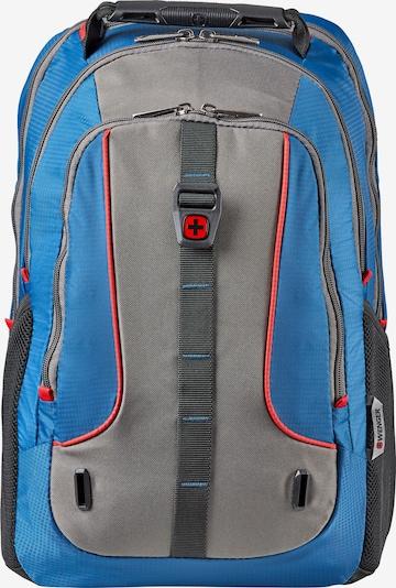 WENGER Rucksack 'Enyo' in blau / grau / rot, Produktansicht
