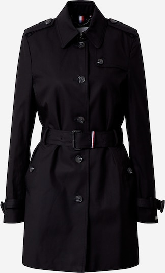 TOMMY HILFIGER Trenchcoat in schwarz, Produktansicht
