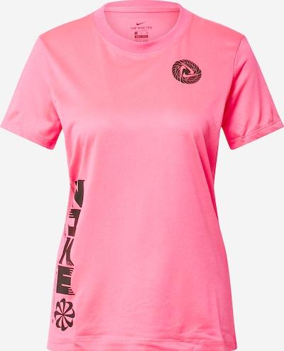 NIKE Tehnička sportska majica u roza / crna, Pregled proizvoda