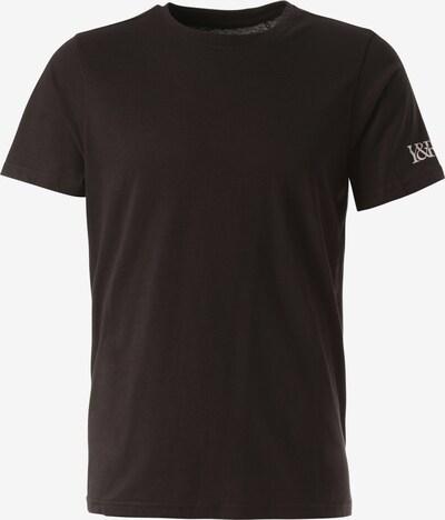 Young & Reckless T-Shirt 'Oblong' in schwarz / weiß, Produktansicht
