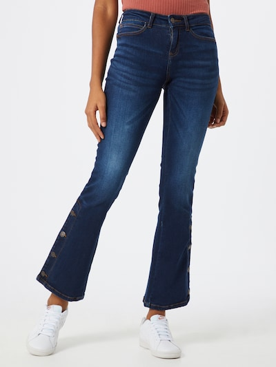 Noisy may Jeans 'NMMARLI NW BOOTCUT BUTTON' in blue denim, Modelansicht