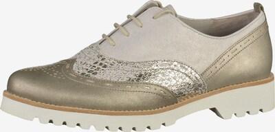 GABOR Halbschuhe in grau / silber, Produktansicht
