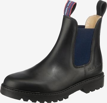 Blue Heeler Chelsea Boots in Schwarz