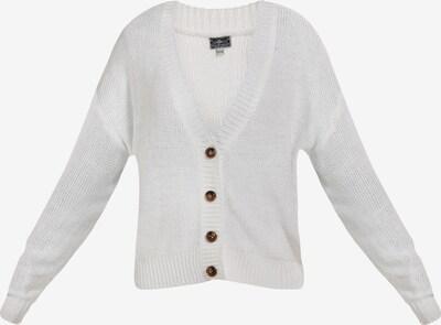 DREIMASTER Strickjacke in weiß, Produktansicht