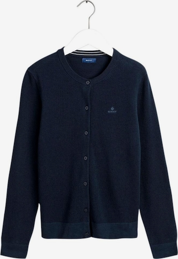 GANT Gant Strickjacke in blau, Produktansicht