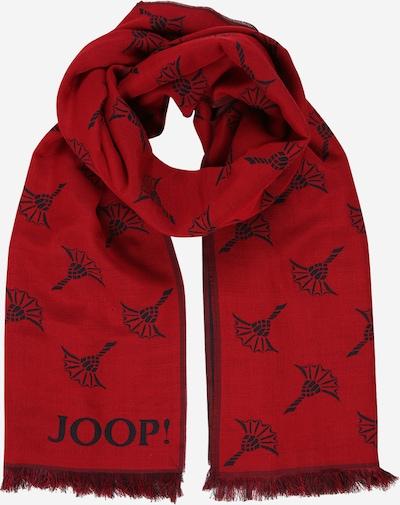 Fular JOOP! pe roșu / negru, Vizualizare produs