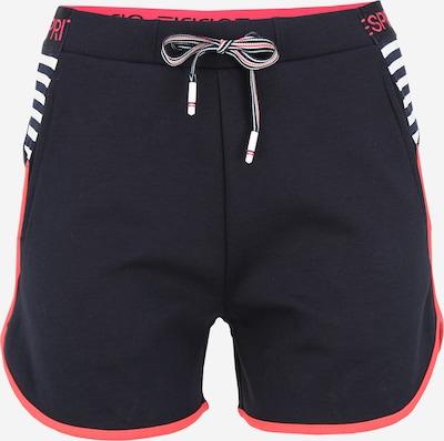 ESPRIT SPORTS Pantalon de sport en bleu marine / rouge, Vue avec produit