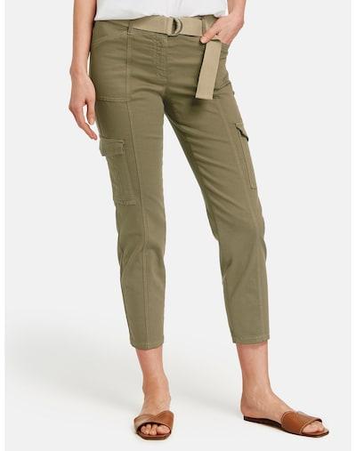 GERRY WEBER Hose in grün, Modelansicht