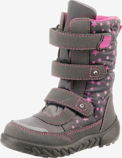 RICHTER Winterstiefel in grau / pink, Produktansicht