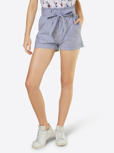 ONLY Shorts 'SMILLA' in rauchblau, Modelansicht