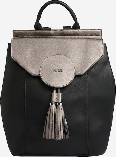 NYZE Rucksack 'The Beauty2go' in schwarz / silber, Produktansicht