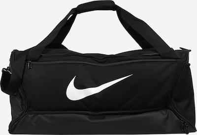 NIKE Sports bag 'BRSLA M DUFF - 9.0' in Black / White, Item view