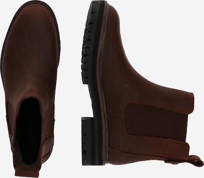 TIMBERLAND Chelsea Boots 'London Square' in braun: Seitenansicht
