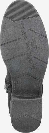 Suvarstomieji kulkšnis dengiantys batai iš TOM TAILOR , spalva - juoda: Vaizdas iš apačios