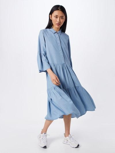 NÜMPH Kleid 'NUANNA' in blau, Modelansicht