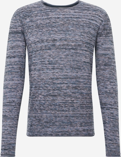 !Solid Pullover 'Hale O-neck Multi' in navy, Produktansicht