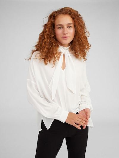 EDITED Bluse 'Lesly' in weiß, Modelansicht