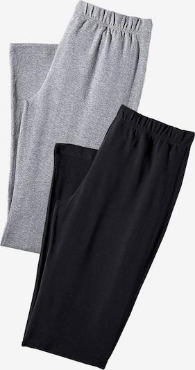 VIVANCE Leggings (2 Stck.) in hellgrau / schwarz, Produktansicht