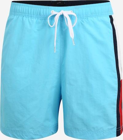 Tommy Hilfiger Underwear Peldšorti kamuflāžas / ūdenszils / sarkans / balts, Preces skats