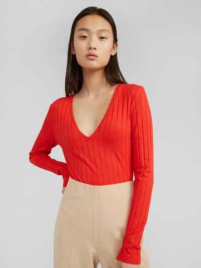 EDITED Shirt 'Elin' in rot, Modelansicht