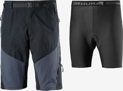 ENDURA Workout Pants 'Hummvee' in Dusty blue / Black, Item view