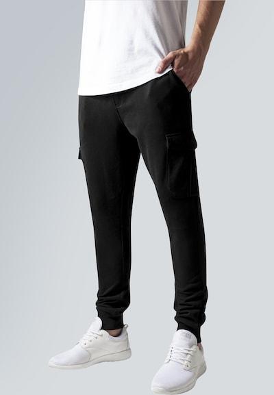Urban Classics Cargo Sweatpants in schwarz, Modelansicht